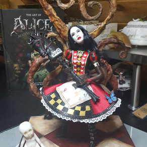 WIP Update Alice Madness Returns Art Doll