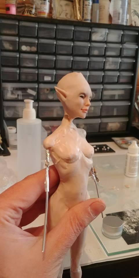Aisling inspired by The Secret of Kells Work in Progress...