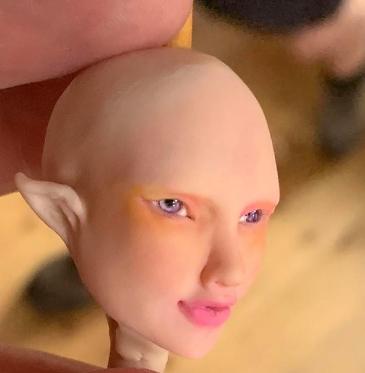 Virgo's Alchemy Miniature Art Doll Eyes