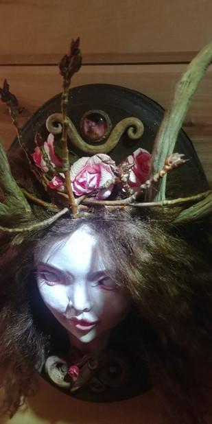 Yakut OOAK Sculpture Plaque