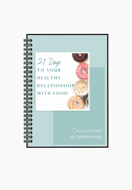 21 days to your healthy relationship with food