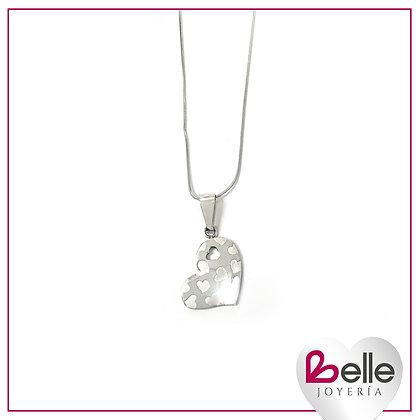 Belle Collar Happy heart