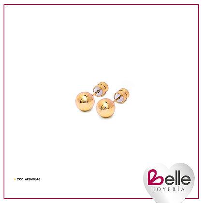 Belle Aretes Alma Gold