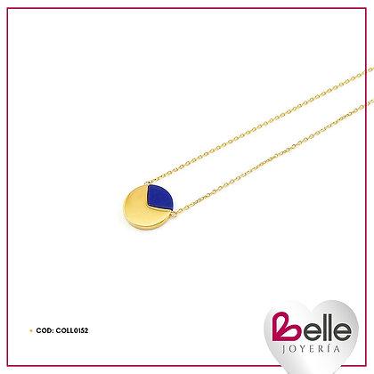 Belle Set Collar Azul