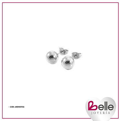 Belle Aretes Silver Lady