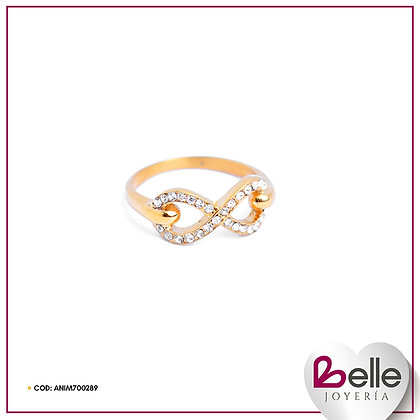 Belle Anillos Infinito Gold