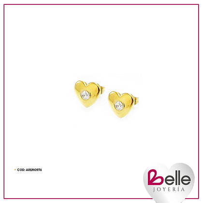 Belle Aretes Tiny heart