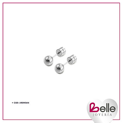Belle Aretes Classic Silver