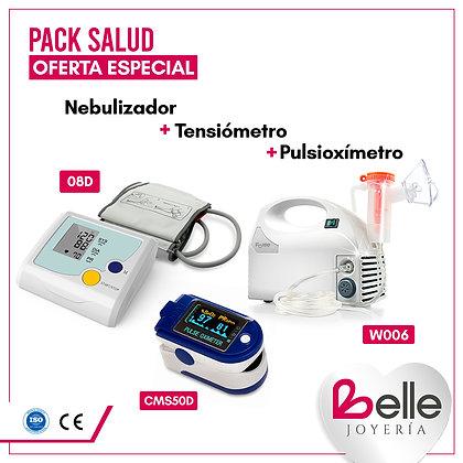 Belle Pack Nebulizador + Tensiómetro + Pulsioxímetro