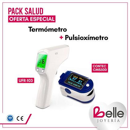 Belle Pack Termómetro + Pulsioxímetro