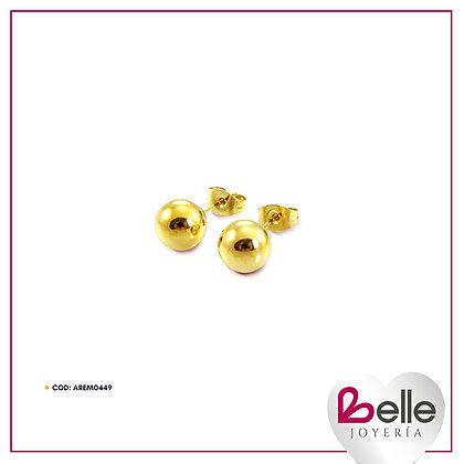 Belle Aretes Gold Queen
