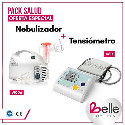 Belle Pack Nebulizador + Tensiómetro