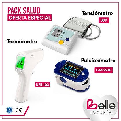 Belle Pack Termómetro + Tensiómetro +Pulsioxímetro