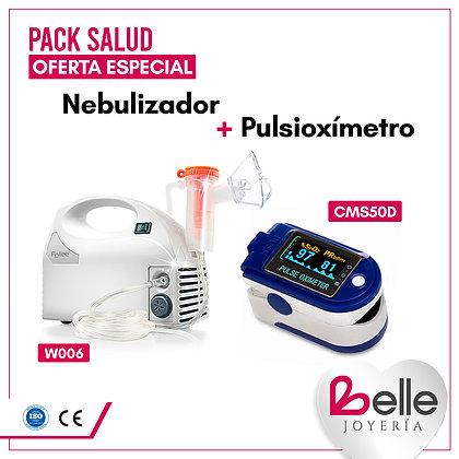 Belle Pack Nebulizador + Pulsioxímetro