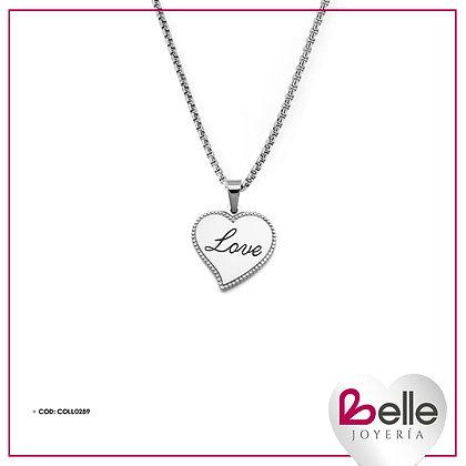 Belle Collar Love Me