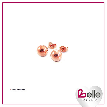 Belle Aretes Pink Lady