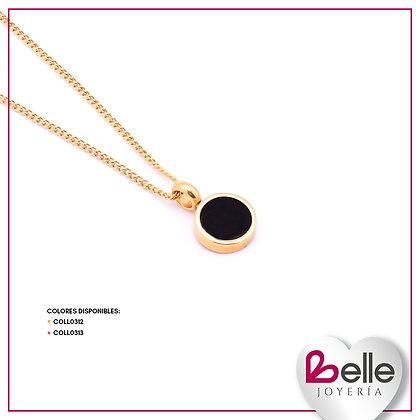Belle Collar Gold & Black
