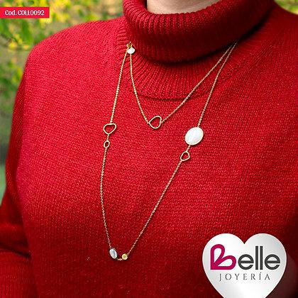 Collar Belle Shine Shine