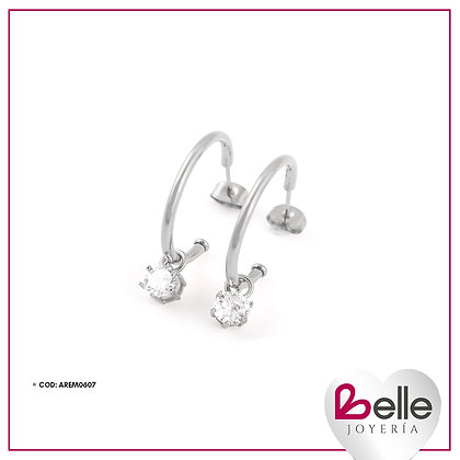 Belle Aretes Love Bow