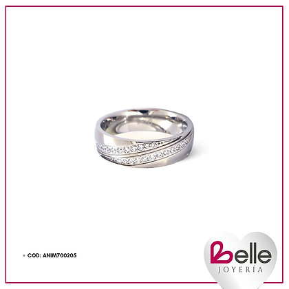Belle Anillo Silver Queen