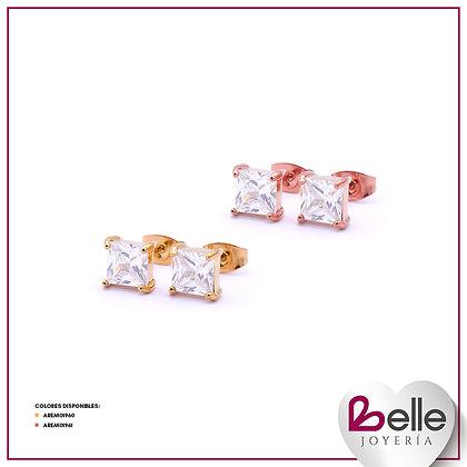 Belle Aretes Brillo especial