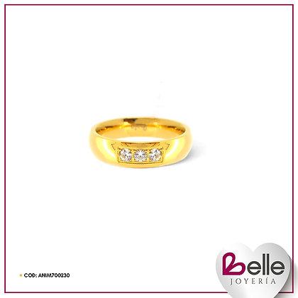 Belle Anillo Deslumbra Gold