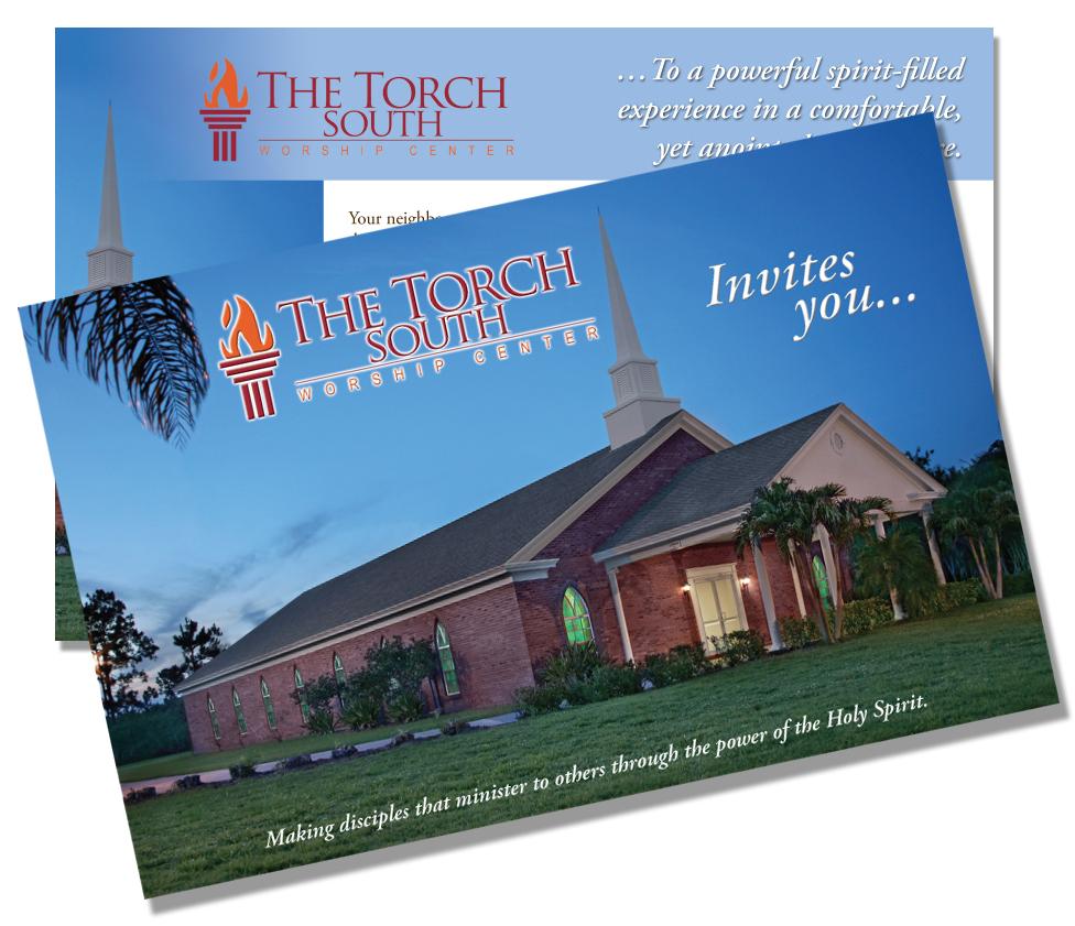 Torch Light Postcard