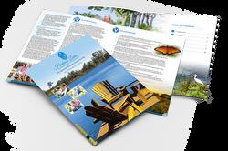 Hudson Lakes Brochure mockup