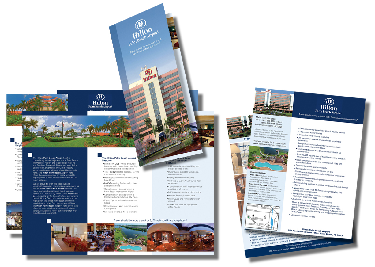 Hilton Trifold & Inserts