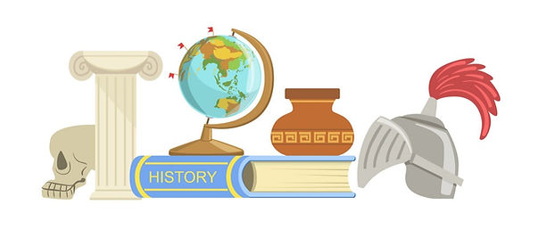 history-class-set-of-objects-vector-1021