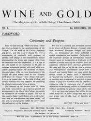 Wine and Gold 1959