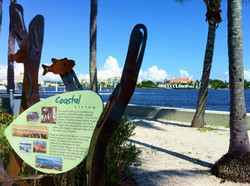 WPB Waterfront Interpretive Graphics
