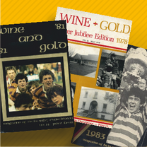 Wine and Gold Through the Years
