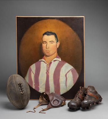 Portrait d'un joueur de rugby