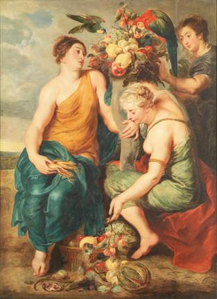 Flore, Pomone et Cérès