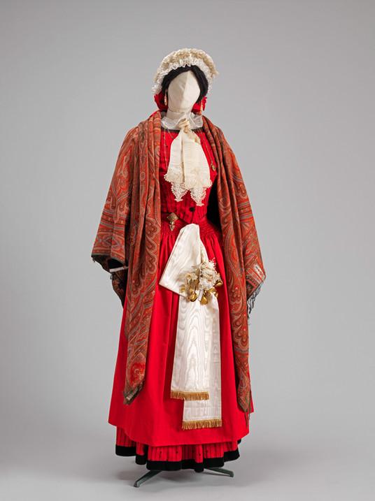 La mariée en rouge (recomposition)