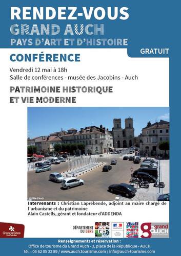 Conférence : Patrimoine historique et vie moderne