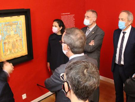 L'ambassadeur du Mexique reçu au musée
