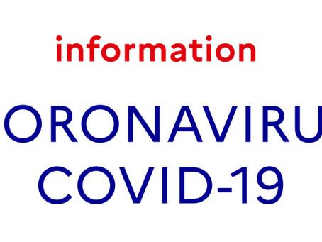 Reports dûs au Coronavirus