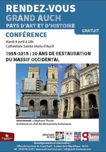Conférence : Restauration de la Cathédrale Sainte-Marie