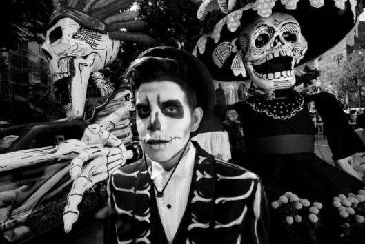 El día de los muertos, entre tradition et modernité mexicaines - photo © Jean-Claude Martinez
