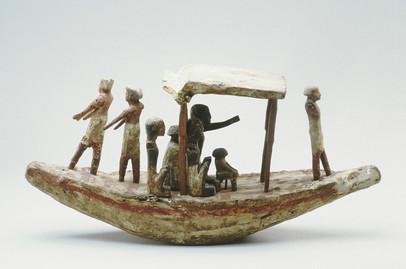 Modèle de barque