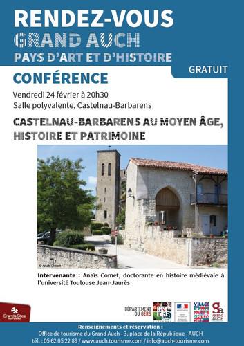 Conférences février et mars 2017
