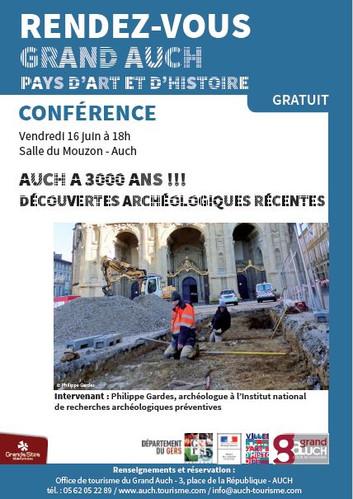Conférence : Auch a 3000 ans