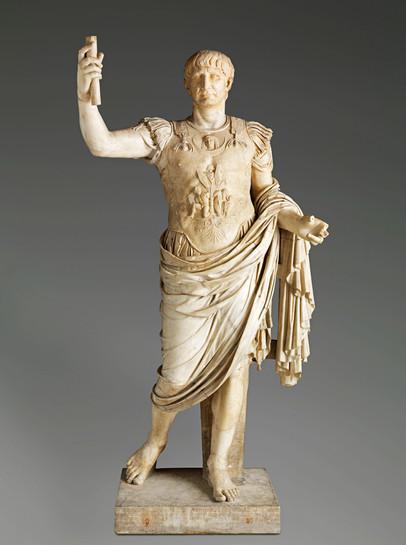 Statue monumentale de l'Empereur Trajan