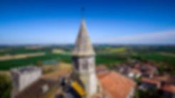 Montaut-les-Créneaux © Techdrone