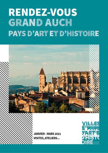 Programmation complète Pays d'Art et d'Histoire janvier-mars 2021