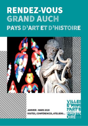 Programmation complète Pays d'Art et d'Histoire janvier-mars 2020