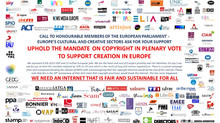 148 organisations call MEPs to support the mandate on Copyright Directive
