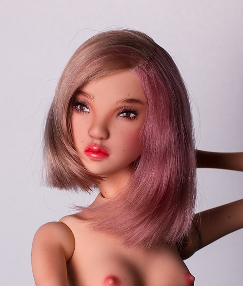 Bob style, pink